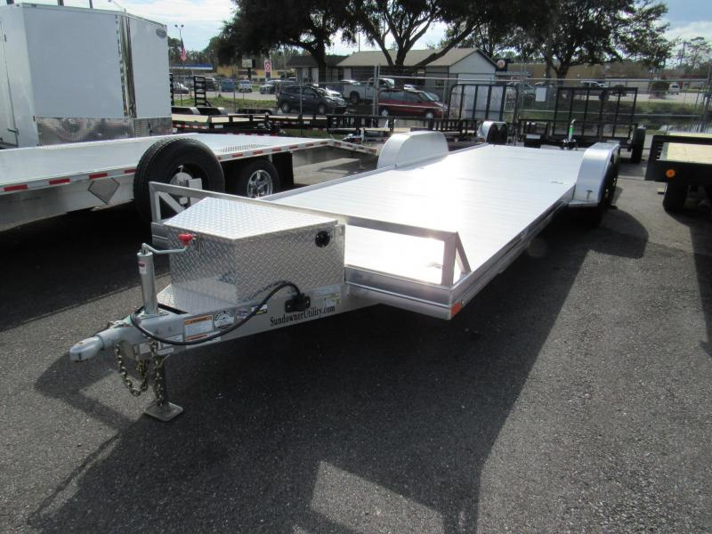 2019  22' All Aluminum Open Car Hauler by Sundowner Trailers