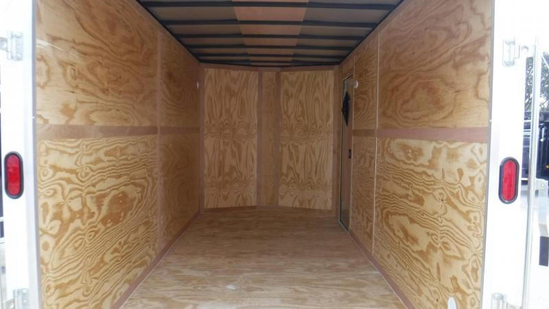 2018 7x16 EXTRA HEIGHT NS Series Enclosed Cargo Trailer
