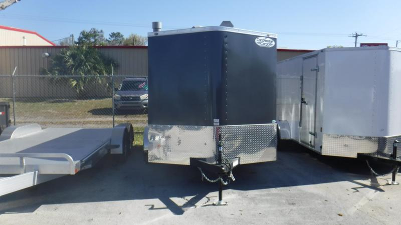 2018 Continental Cargo GANS712TA2 Enclosed Cargo Trailer