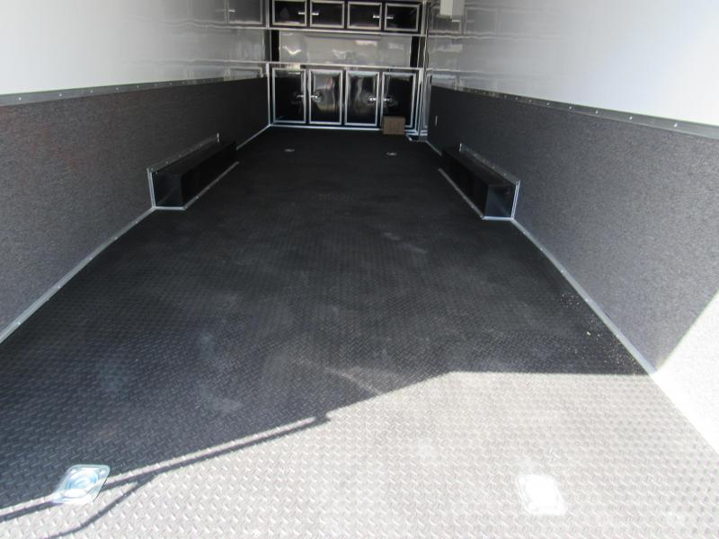 2020 28'  Enclosed Race Trailer by  Continental Cargo