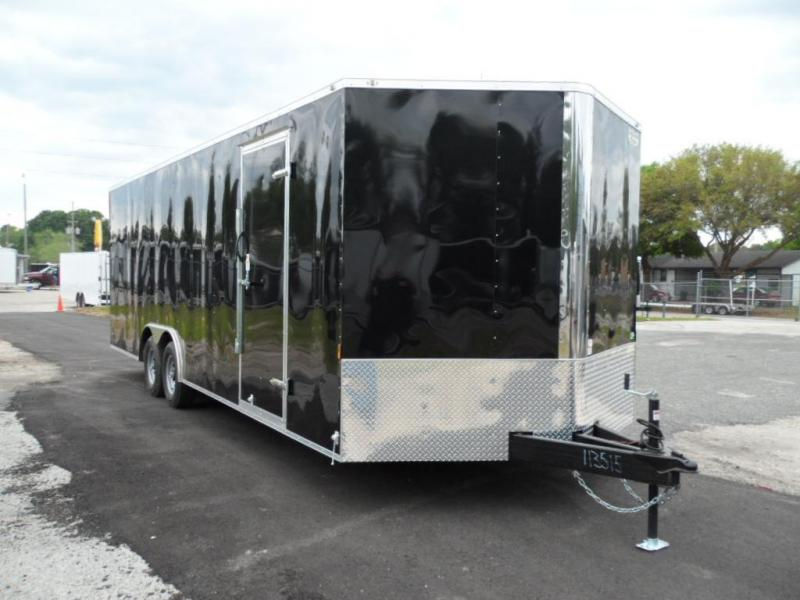 2016 24' Continental Cargo NS Series Racing Trailer