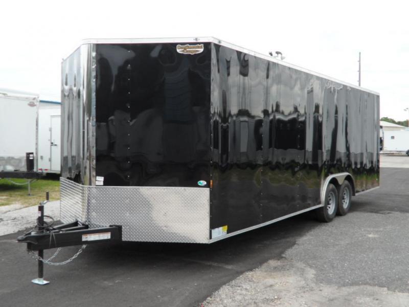 2016 24' Continental Cargo NS Series Racing Trailer