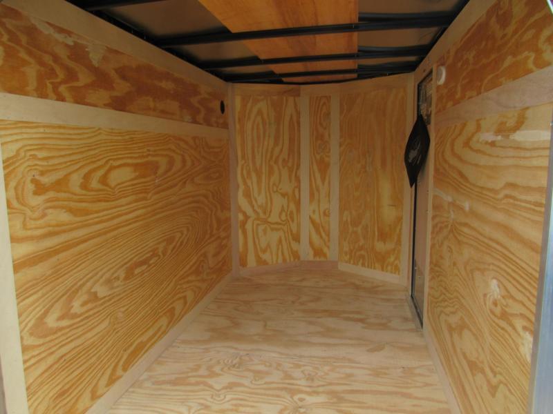 2019 Continental Cargo 5X8 Ramp Door Enclosed Cargo Trailer