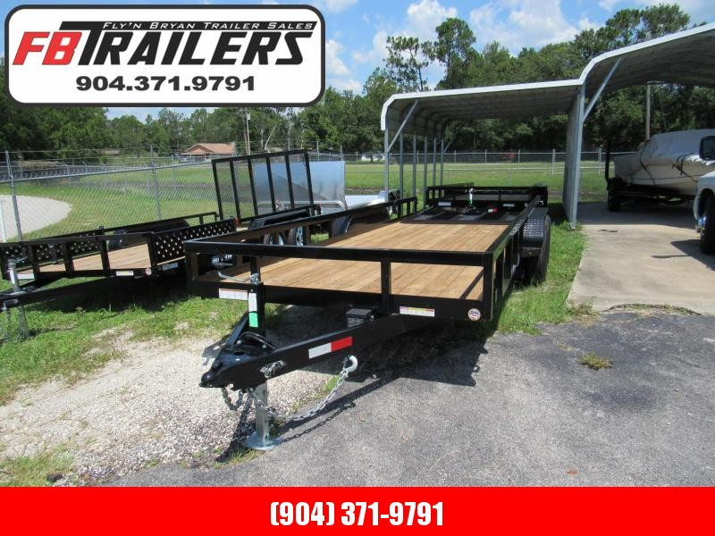 2019 Sure-Trac 7x20 Equipment Utility Trailer