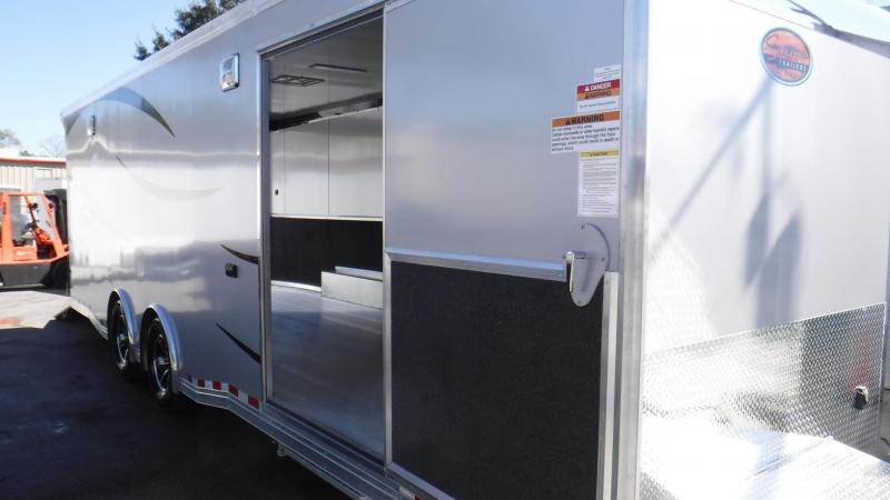 2018 26'  All Aluminum Race Trailer  By Sundowner Trailers