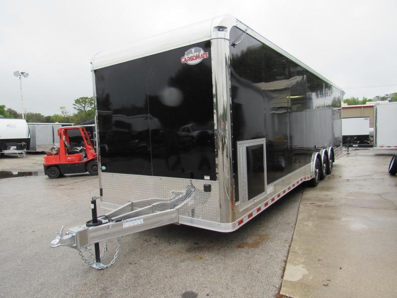 2020 32' Aluminum Frame Spread Axle Race Trailer by Cargo Mate
