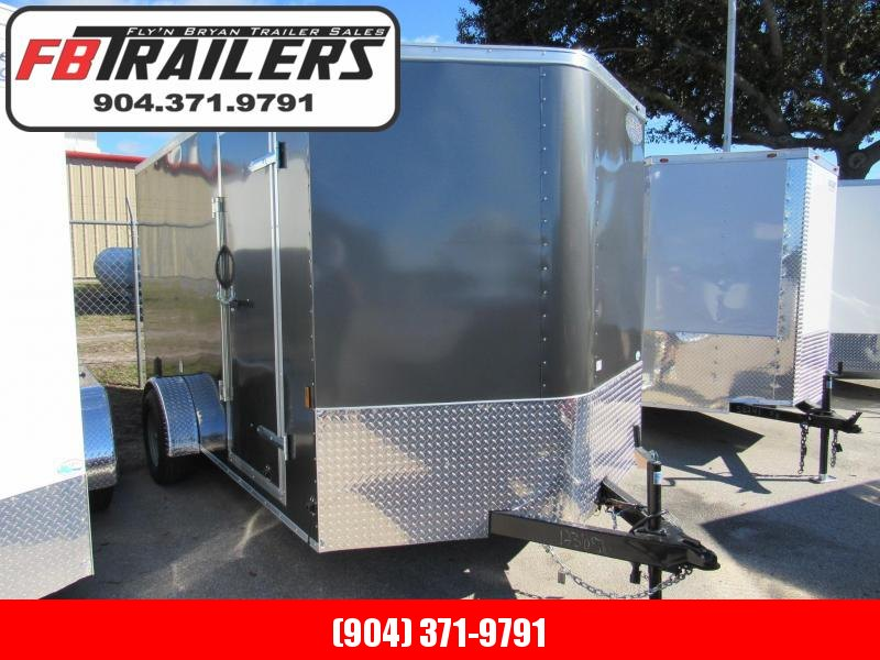 2019 Continental Cargo 7X12 Single Axle Enclosed Cargo Trailer