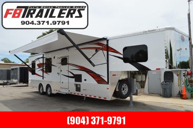 2019 Living Quarters Race Trailer/Toy Hauler