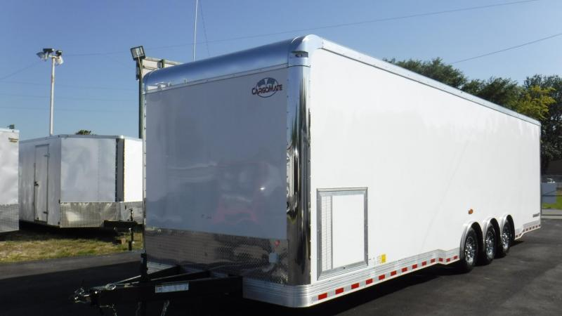 2018 32' Spread Axle Cargo Mate Eliminator Triple 6000 # Axl