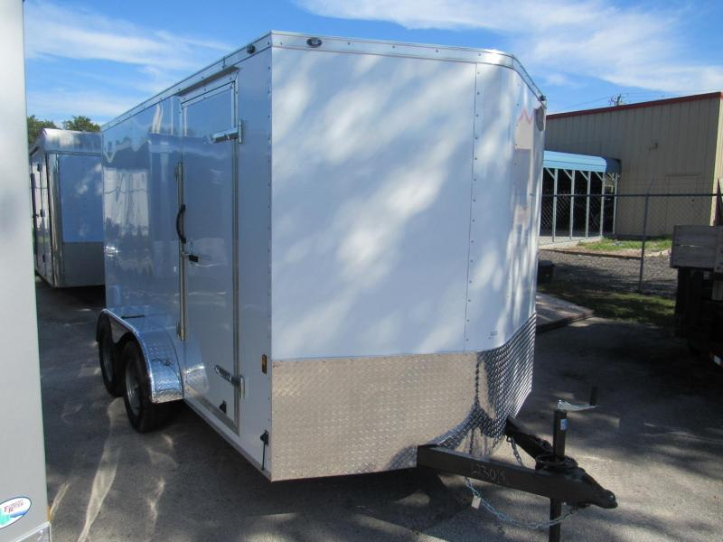 2019 Continental Cargo 7x12 Tandem Axle Enclosed Cargo Trailer