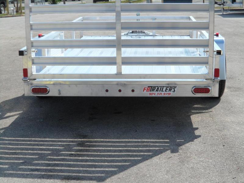 2018 6x12 All Aluminum Open Utility Trailer by ATC