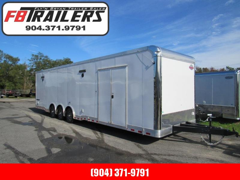 2019  34ft  Spread Axle Race Trailer LOADED by Cargo Mate