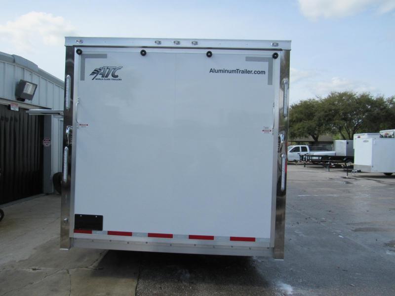 2020 ATC 28' with Premium Escape Door Car / Racing Trailer