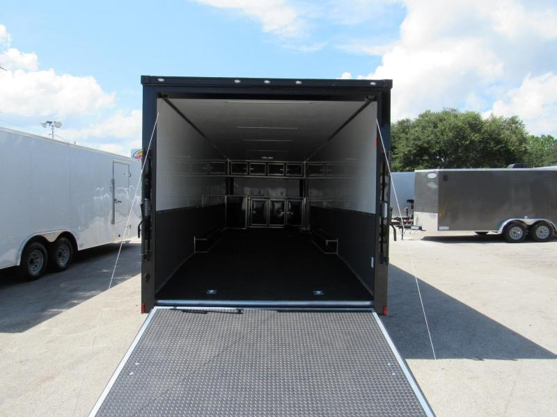 2020 Continental Cargo 30 ft Black out Car / Racing Trailer