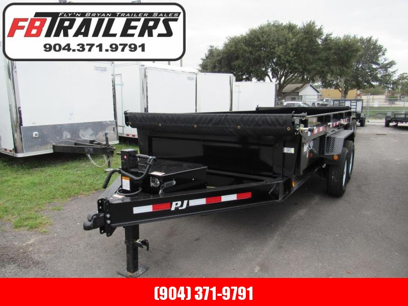 2019 PJ Trailers 14ft with 2ft Sides Dump Trailer