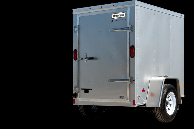 2017 Haulmark PPT4X6DS2 Enclosed Cargo Trailer