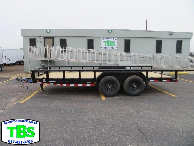 2020 Load Trail 83x18 Equipment Trailer