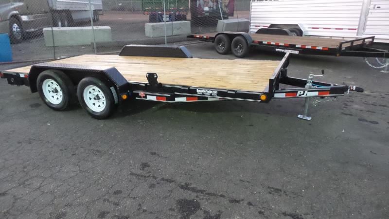 2018 PJ Trailers 16X5 Channel Carhauler