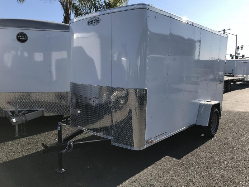 2018 Cargo Express 6X12 Enclosed Trailer