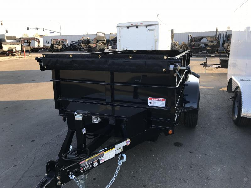2018 Iron Panther 5X8X2 Dump Trailer