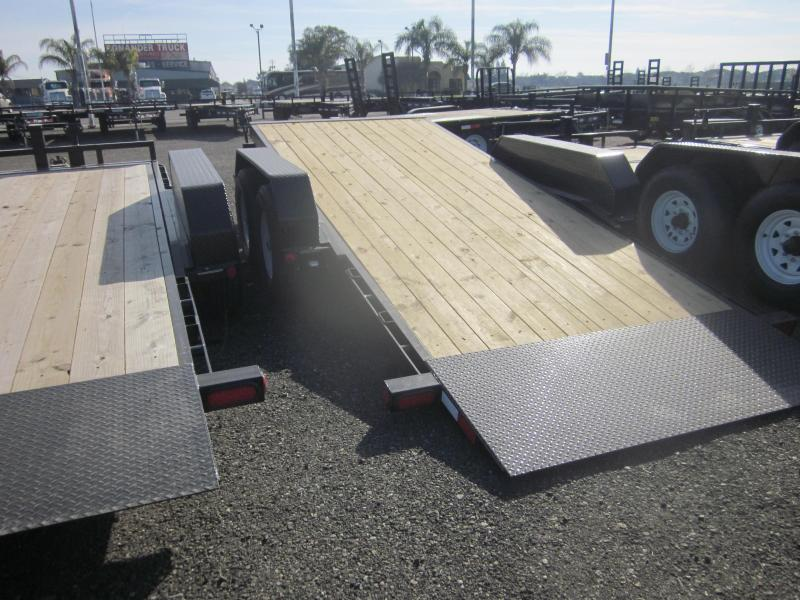 2018 PJ Trailers 16X6 Channel Equipment Tilt