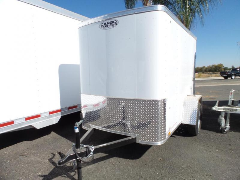 2018 Cargo Express 5X8 Wide Single Cargo Trailer