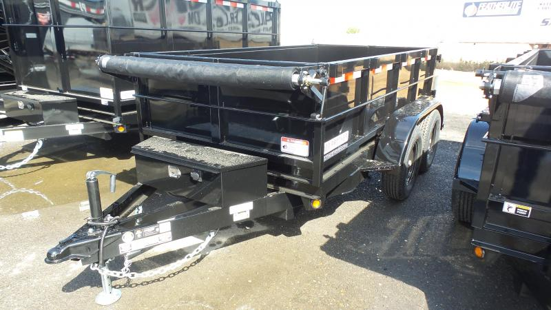 2017 Iron Panther D7 2FT Sides Dump Trailer
