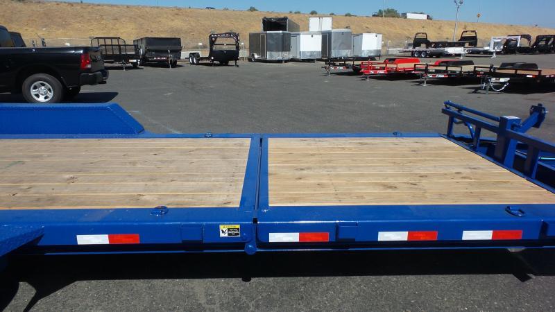 2018 Load Trail Tit-N-Go Tandem Axle Tilt Deck I-beam Frame Trailer