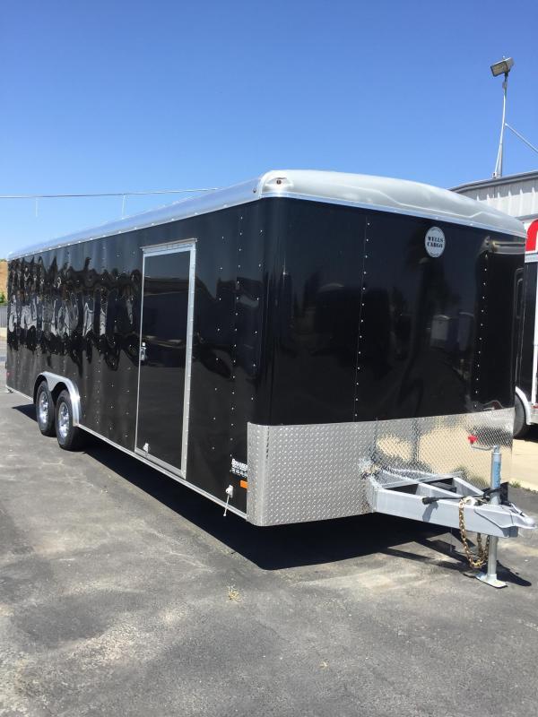 2016 Wells Cargo RF85X244 Enclosed Cargo Trailer