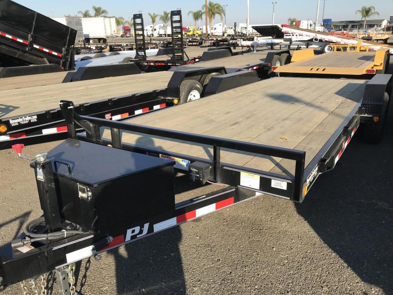 2018 PJ Trailers 20X6 Channel Equipment
