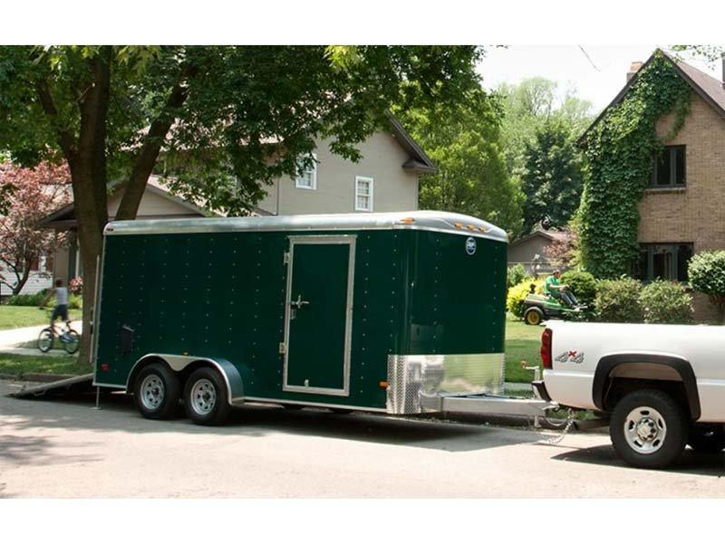 2018 Wells Cargo 7X14 Enclosed Trailer