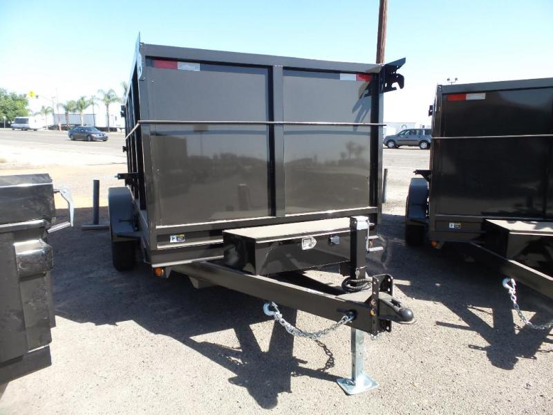 2018 Iron Panther 6X12X4 Dump Trailer