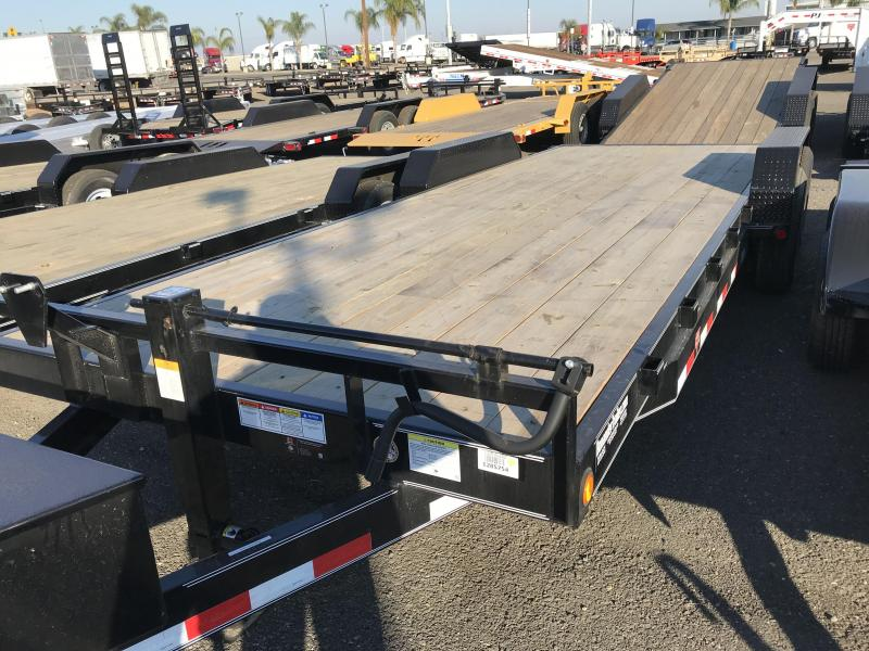 2018 PJ Trailers 22X6 Channel Equipment