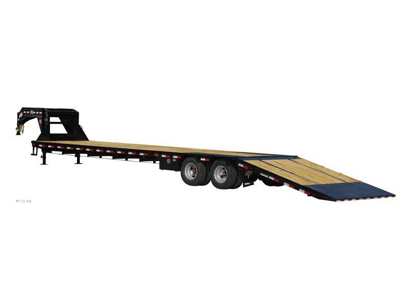 2018 PJ Trailers 30' Low-Pro w/hydraulic dove