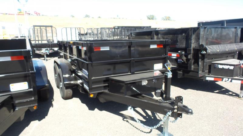2017 Iron Panther D7 LD 2FT SIDES 5X8 Dump Trailer