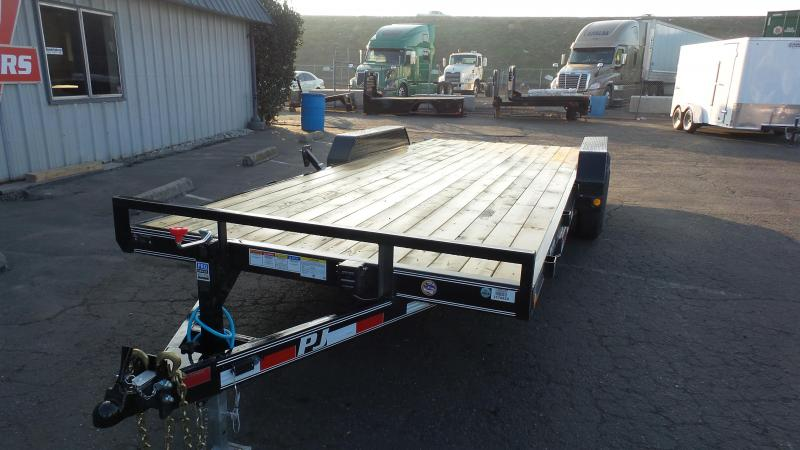 2018 PJ Trailers 20X5 Channel Equipment