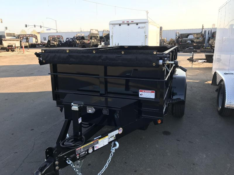 2018 Iron Panther 5X8 Dump Trailer