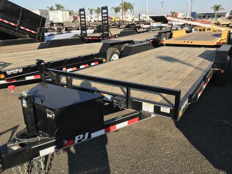 2018 PJ Trailers 20X5 Channel Equipment