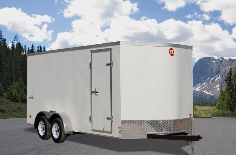 2017 Wells Cargo FT7X14 Enclosed Cargo Trailer