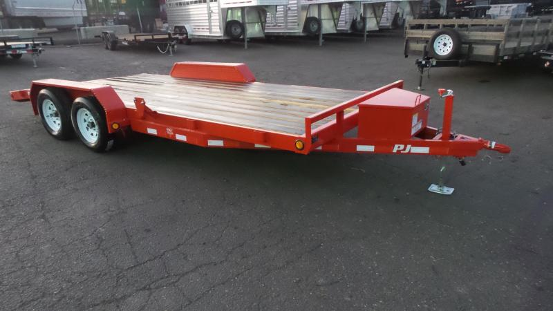 2018 PJ Trailers 18X5 Channel Carhauler