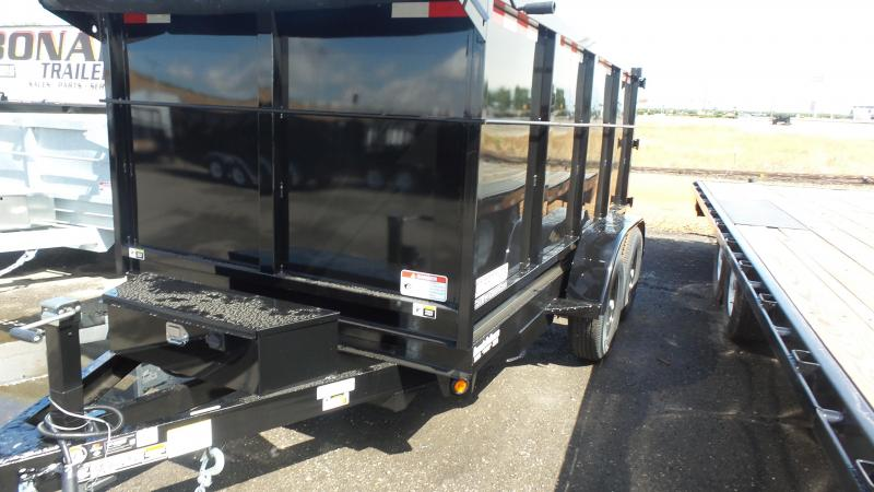2017 Iron Panther D10 4FT Sides Dump Trailer