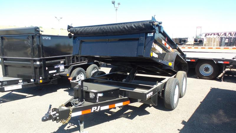 2018 PJ Trailers 12X72 Tandem Axle Trailer