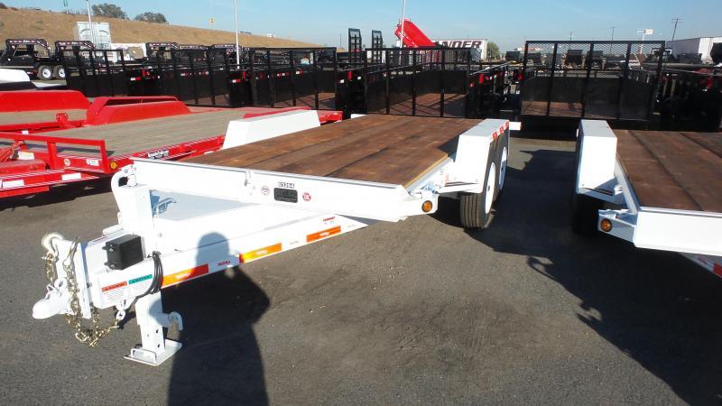 2018 TrailMax T-12-UT (416) Flatbed Trailer