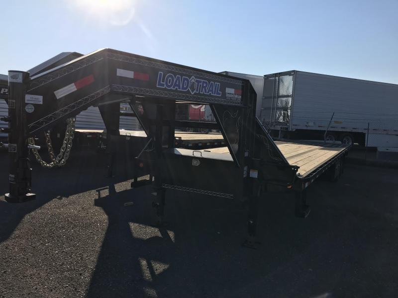2018 Load Trail GN 34' Tandem Low-Pro w/Hyd Dove