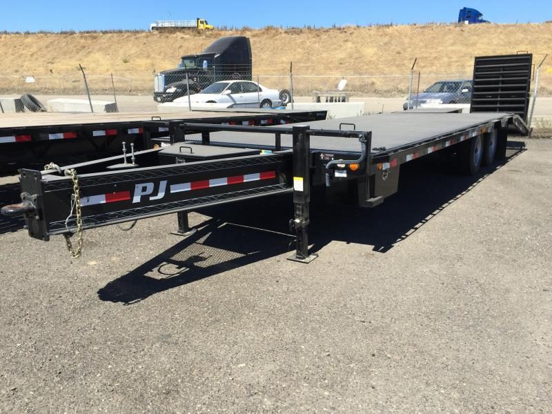 2015 PJ Trailers LD Flatbed Trailer 26x8.5