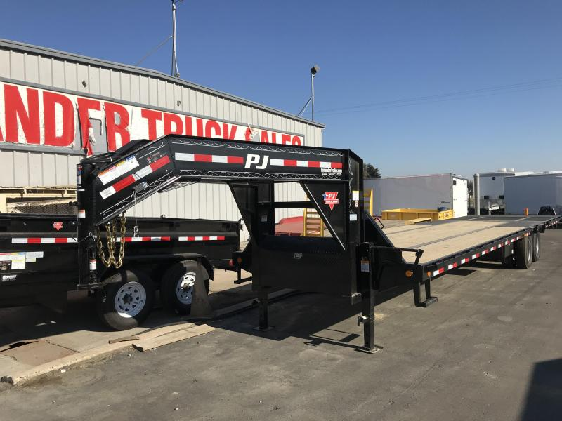 2018 PJ Trailers 36' Low Pro Hydraulic Dove