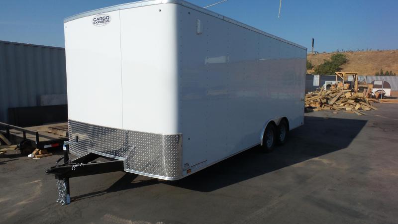 2018 Cargo Express 8.5X 20 Enclosed Trailer