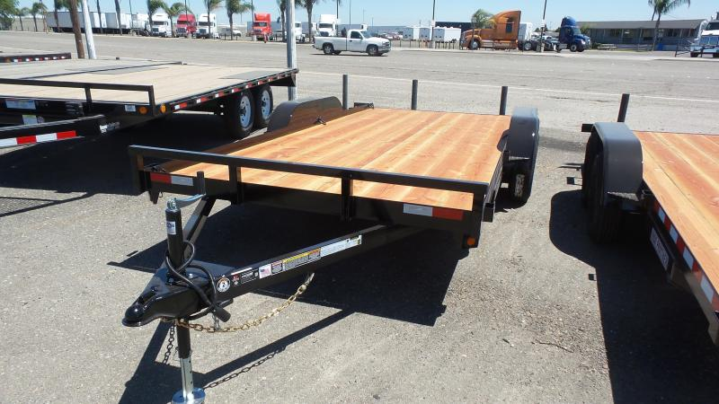 2017 Iron Panther 7x16 Econo Car Hauler Trailer