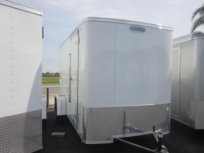 2018 Cargo Express 6X12 Enclosed Trailer