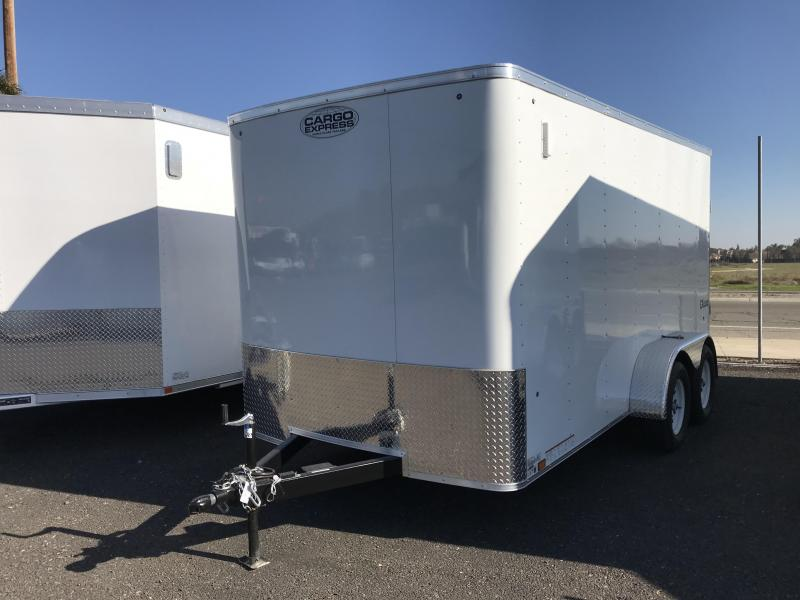 2018 Cargo Express 7X14 Enclosed Trailer